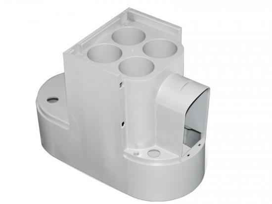plastic molded body for water purifier