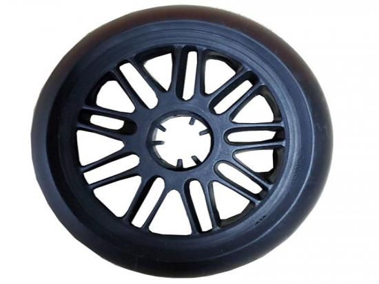 plastic molded wheel