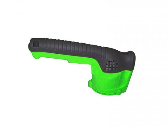 plastic overmolded handle